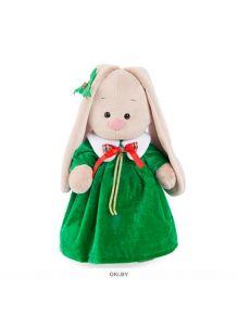 Игрушка мягконабивная Зайка Ми в рождественском платье (большая/32 см)