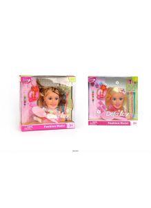 Кукла - манекен с аксессуарами «Создаем прическу» (defa)