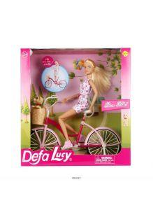 Кукла «Defa» на велосипеде (defa)