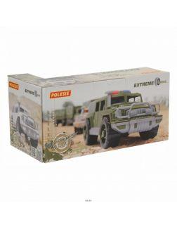 Автомобиль-джип военный «Защитник-Сафари» №1 с 1-м пулемётом (РБ) (в коробке)