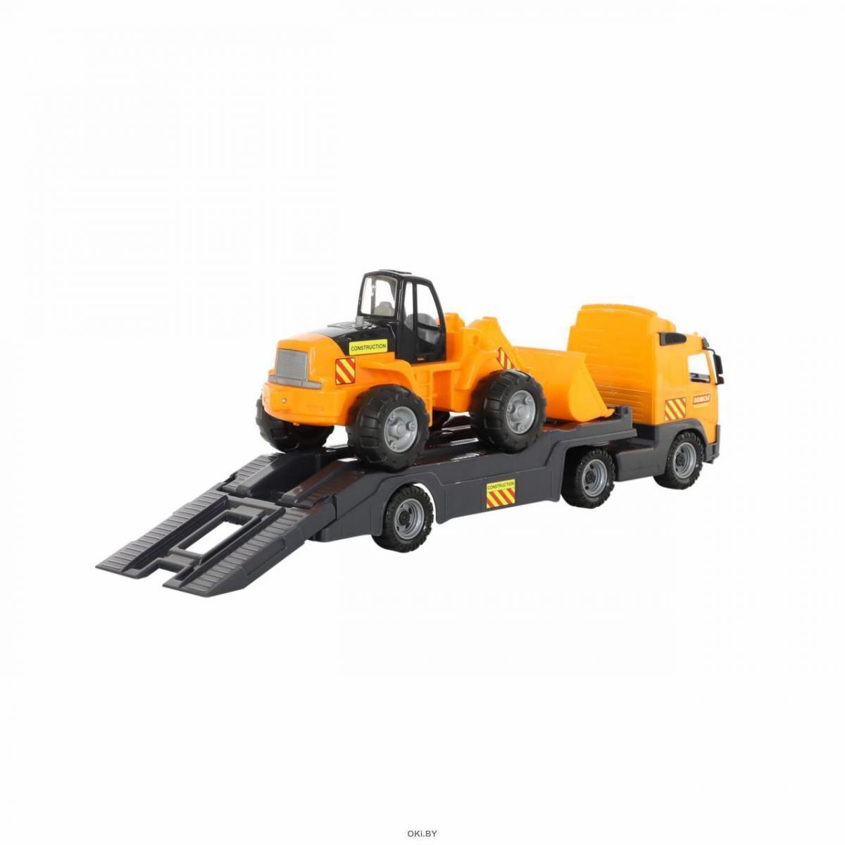 Купить «Volvo», автомобиль-трейлер + трактор-погрузчик (в ...