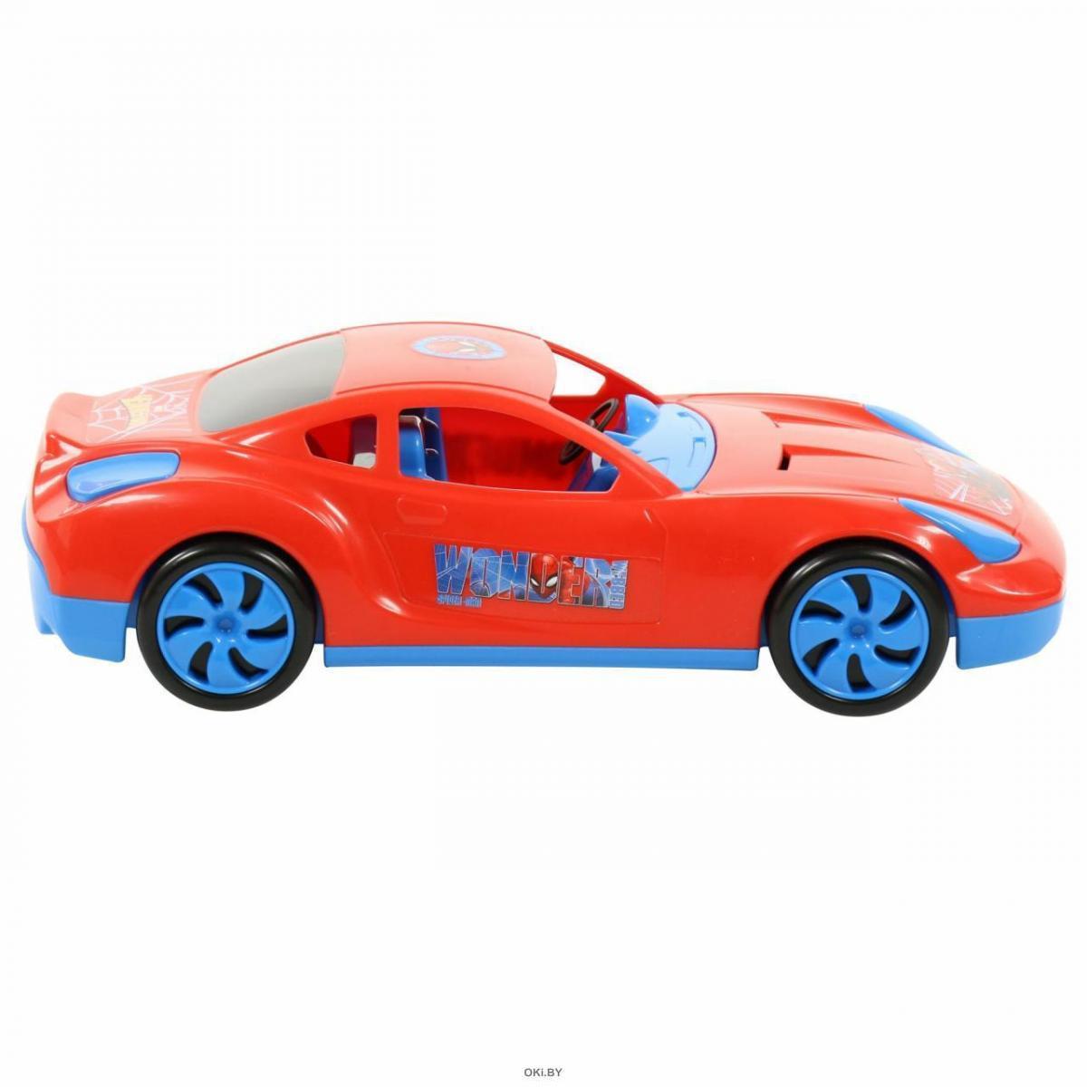 Автомобиль Marvel «Мстители. Человек-Паук» (в коробке)