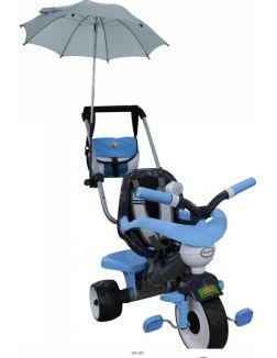 Велосипед 3-х колёсный «Амиго №2» с ограждением, клаксоном, ручкой, ремешком, мягким сиденьем, сумкой и зонтиком