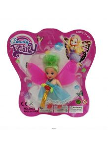 Кукла «Фея» 19х18 см (в ассортименте, 220233)