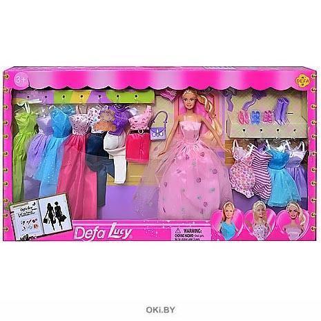 Купить Кукла с нарядами (defa) в интернет-магазине с ...
