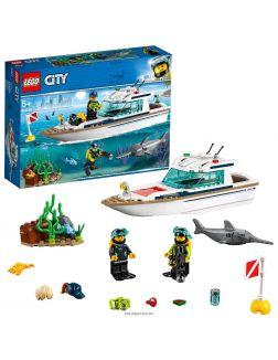 Яхта для дайвинга (Лего / Lego city)