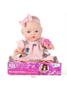 Кукла «Малышка» с соской (little you)