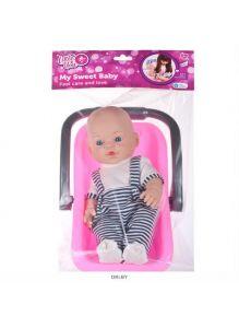 Кукла «Малыш» с переноской (little you)