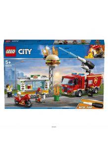 Пожар в бургер-кафе (Лего / LEGO city)