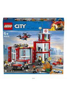 Пожарное депо (Лего / LEGO city)