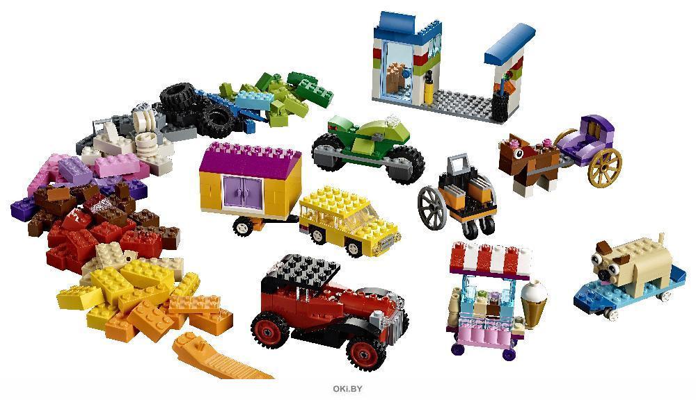 Модели на колёсах (Лего / Lego classic)