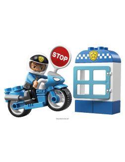 Полицейский мотоцикл (Лего / Lego duplo)