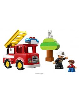 Пожарная машина (Лего / Lego duplo)