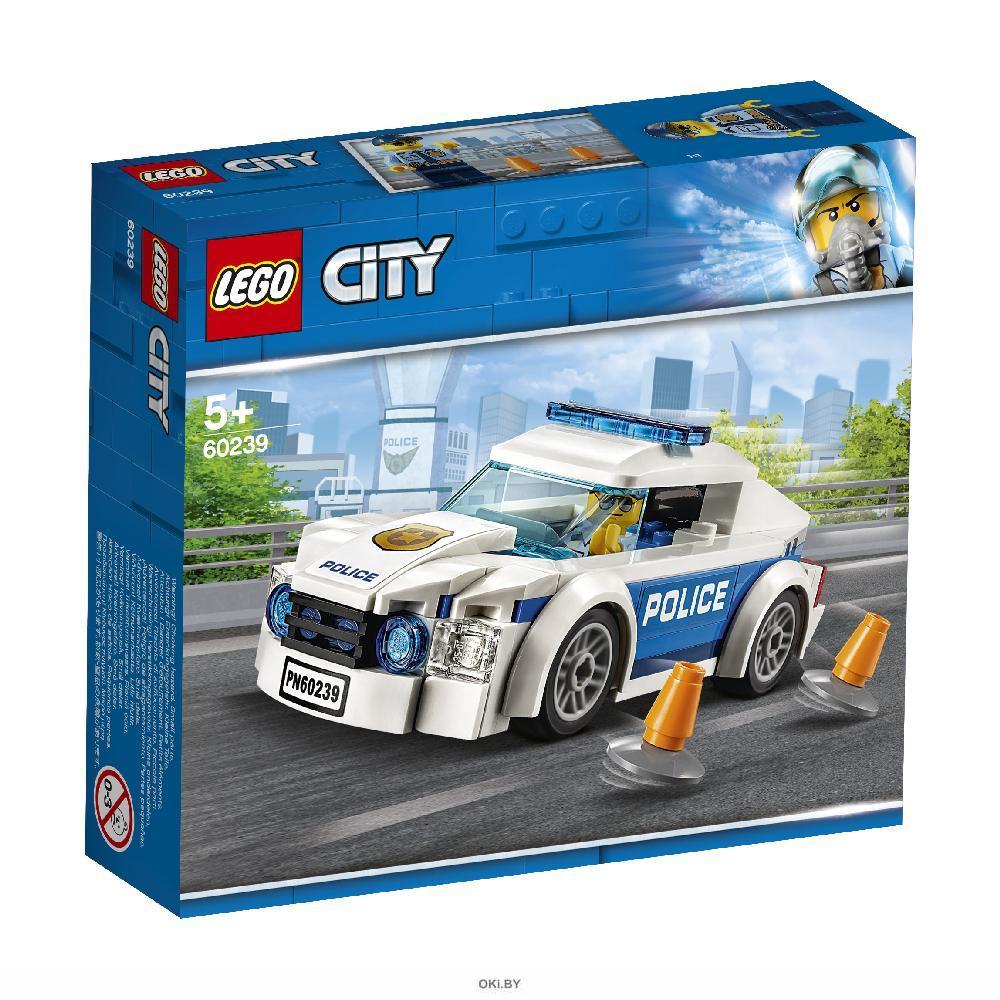 Автомобиль полицейского патруля (Лего / Lego city)
