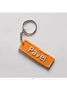 Брелок с именем «PAVEL»