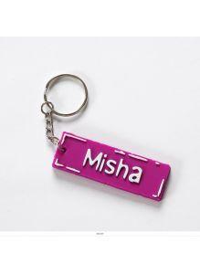 Брелок с именем «MISHA»