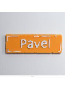 Магнит с именем «PAVEL»