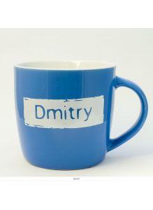 Кружка керамическая с лого DMITRY