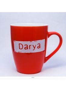 Кружка керамическая с лого DARIA