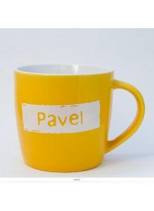 Кружка керамическая с лого PAVEL