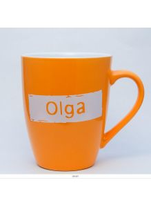 Кружка керамическая с лого OLGA