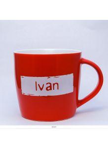 Кружка керамическая с лого IVAN