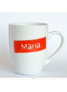 Кружка керамическая с лого MARIA