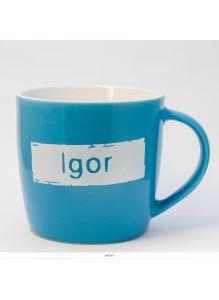 Кружка керамическая с лого IGOR
