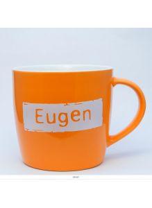 Кружка керамическая с лого EUGEN
