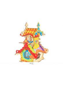 Игрушка Вуди. Конструктор деревянный «Терем-Теремок»