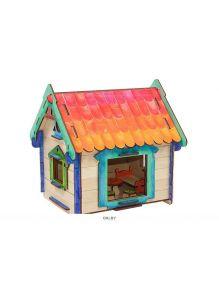 Игрушка Вуди. Конструктор деревянный «Мой дом»