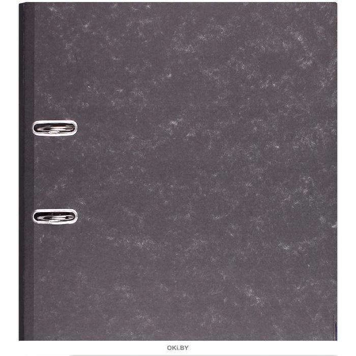 Папка-регистратор А4 картон. с металл. окантовкой (обложка ламин. картон под мрамор) 5,0 см
