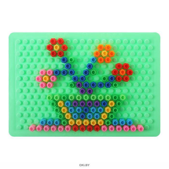 Конструктор детский пластиковый 100 предметов «Darvish»