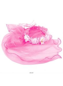 Фата карнавальная (аксессуар для волос, ассорти цвет)