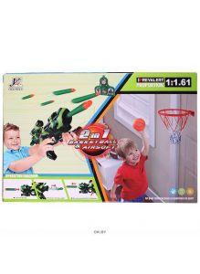 Игра «2 в 1» баскетбол+автомат (арт. DV-T-1655)