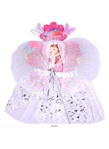 Карнавальный набор «Фея» 4 предмета (юбочка, волшебная палочка, ободок, крылышки)