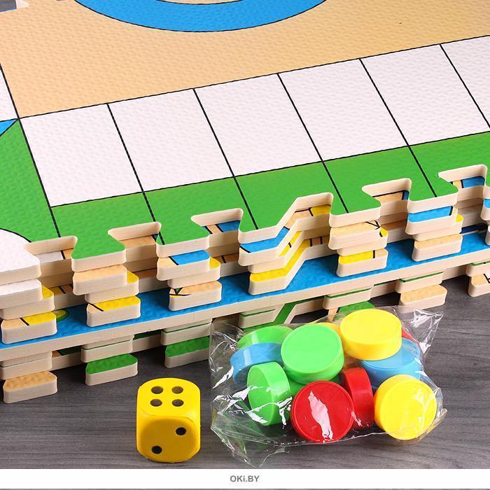 Настольная игра «Лудо» 120*120см