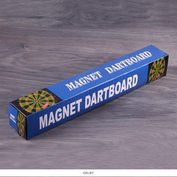 Дартс 17 с магнитным полотном (+ 6 магнитных дротиков)