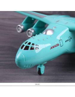 Самолет на р/у. (свет,звук) Игрушка