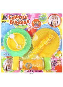 Мыльные пузыри с ракетками (6 предметов) в наборе. Игрушка