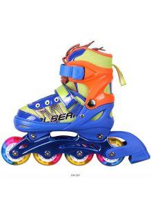 Роликовые коньки для девочек и мальчиков размер (30-34) раздвижные