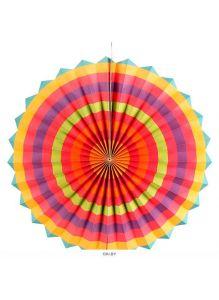 Праздничное украшение «Веер» 6шт/уп (набор) ассорти