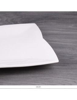 Тарелка большая 26,5см квадратная