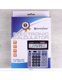 Калькулятор настольный 12 pазр. Darvish двойное питание 200*150*33мм двойная память (арт. DV-888M-12DM)