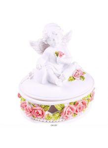 Сувенир «Шкатулка с ангелом» (4вида)