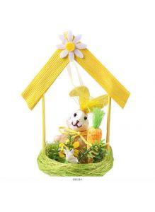 Сувенир-подвеска «Кролик в гнезде»