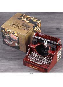 Сувенир-шкатулка «Печатная машинка» музыкальная