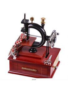 Сувенир-шкатулка «Швейная машинка» музыкальная