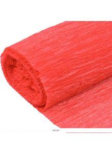 Бумага гофрированная поделочная 50*200см коралловая «Darvish»