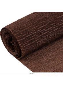 Бумага гофрированная поделочная 50*200см коричневая «Darvish»